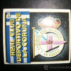 Cromos de Fútbol: ESCUDO DEL DEPORTIVO DE LA CORUÑA ALBUM ESTE LIGA 1998 - 1999 ( 98 - 99 ). Lote 205679730