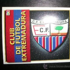 Cromos de Fútbol: ESCUDO DEL EXTREMADURA ALBUM ESTE LIGA 1998 - 1999 ( 98 - 99 ). Lote 205679536