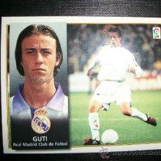 Cromos de Fútbol: GUTI DEL REAL MADRID ALBUM ESTE LIGA 1998 - 1999 ( 98 - 99 ). Lote 269462108