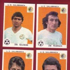Cromos de Fútbol: SALAMANCA - MAGA 1978-1979 - NUNCA PEGADOS 294 D 'ALESSANDRO, 295 IGLESIAS, 296 PEDRAZA 306 PEREZ.. Lote 37180505
