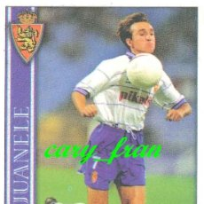 Cromos de Fútbol: MUNDICROMO 2000 2001 00 01 ZARAGOZA JUANELE . Lote 37210692