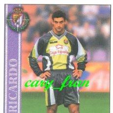 Cromos de Fútbol: MUNDICROMO 2000 2001 00 01 VALLADOLID RICARDO . Lote 37215922