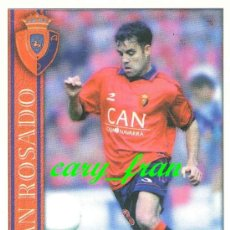 Cromos de Fútbol: MUNDICROMO 2000 2001 00 01 OSASUNA IVAN ROSADO . Lote 37274898