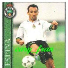 Cromos de Fútbol: MUNDICROMO 2000 2001 00 01 RACING SANTANDER ESPINA . Lote 37278391