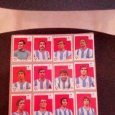 Cromos de Fútbol: CROMOS DE MAGA LIGA 1977-1978 DE FUTBOL RECREATIVO DE HUELVA. 12 CROMOS. SIN PEGAR. Lote 37223942