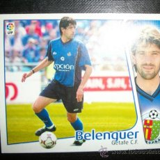 Cromos de Fútbol: BELENGUER DEL GETAFE ALBUM ESTE LIGA 2004 - 2005 ( 04 - 05 ). Lote 194522427