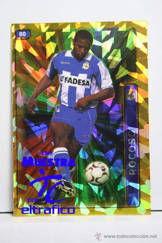 MUNDICROMO FICHAS LIGA 2005 Nº 80 ANDRADE - R.C. DEPORTIVO, CROMOS (Coleccionismo Deportivo - Álbumes y Cromos de Deportes - Cromos de Fútbol)