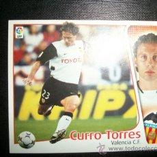 Cromos de Fútbol: CURRO TORRES DEL VALENCIA ALBUM ESTE LIGA 2004 - 2005 ( 04 - 05 ). Lote 194994801