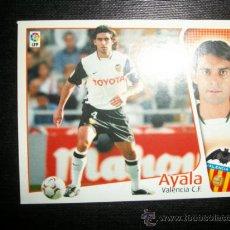 Cromos de Fútbol: AYALA DEL VALENCIA ALBUM ESTE LIGA 2004 - 2005 ( 04 - 05 ). Lote 194994962
