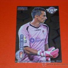 Cromos de Fútbol: QUIZ MUNDICROMO 2012 ( TOP 1 ) - 549 ROBERTO - BRILLO AZUL - GRANADA - 2011 11 12 - . Lote 37512307