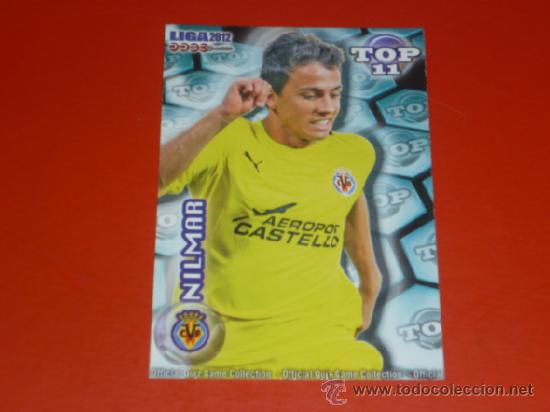 QUIZ MUNDICROMO 2012 ( TOP 11 ) - 632 NILMAR - AZUL MATE - VILLARREAL CF - 2011 11 12 - (Coleccionismo Deportivo - Álbumes y Cromos de Deportes - Cromos de Fútbol)