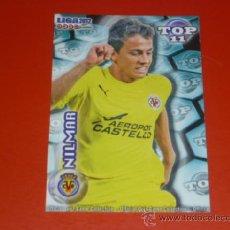 Cromos de Fútbol: QUIZ MUNDICROMO 2012 ( TOP 11 ) - 632 NILMAR - AZUL MATE - VILLARREAL CF - 2011 11 12 -. Lote 277208248