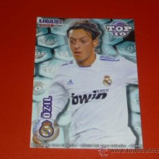 Cromos de Fútbol: QUIZ MUNDICROMO 2012 ( TOP 10 ) - 614 OZIL - AZUL MATE - R. MADRID - 2011 11 12 -. Lote 277208233