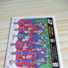 Cromos de Fútbol: 29 ALINEACION BARCELONA MUNDICROMO FICHAS DE LA LIGA 2007-2008 07-08 . Lote 99515051