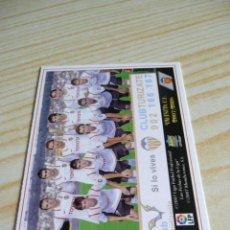 Cromos de Fútbol: 83 ALINEACION VALENCIA MUNDICROMO FICHAS DE LA LIGA 2007-2008 07-08 . Lote 37671811