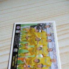 Cromos de Fútbol: 110 ALINEACION VILLARREAL MUNDICROMO FICHAS DE LA LIGA 2007-2008 07-08 . Lote 116114387