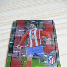 Cromos de Fútbol: 188 AGUERO SECURITY HORIZONTAL ATLETICO DE MADRID MUNDICROMO FICHAS LIGA 2007-2008 07-08 . Lote 157134290