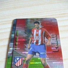 Cromos de Fútbol: 189 PABLO SECURITY HORIZONTAL ATLETICO MADRID MUNDICROMO FICHAS LIGA 2007-2008 07-08 . Lote 157134317