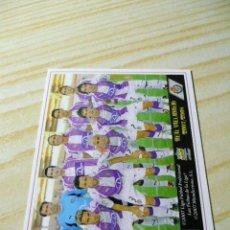 Cromos de Fútbol: 461 ALINEACION VALLADOLID MUNDICROMO FICHAS DE LA LIGA 2007-2008 07-08 . Lote 37735676