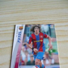 Cromos de Fútbol: 58 PUYOL BARCELONA PANINI MEGACRACKS 2008-2009 08-09 . Lote 128861576
