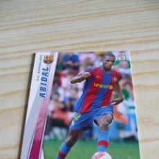 Cromos de Fútbol: 62 ABIDAL BARCELONA PANINI MEGACRACKS 2008-2009 08-09 . Lote 37802811