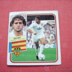 Cromos de Fútbol: ED. ESTE 89-90 BAJA REVERT ( VALENCIA ) NUNCA PEGADO. Lote 37842672