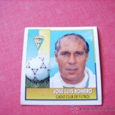 Cromos de Fútbol: ED. ESTE 92-93 COLOCA JOSE LUIS ROMERO ( CADIZ ) NUNCA PEGADO. Lote 37843070