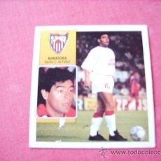 Cromos de Fútbol: SEVILLA --ED. ESTE 92-93 COLOCA MARADONA ( SEVILLA ) NUNCA PEGADO. Lote 37843099