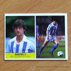 Cromos de Fútbol: REAL SOCIEDAD - BAKERO II - EDICIONES FESTIVAL 1987-1988, 87-88 - NUNCA PEGADO. Lote 37952747