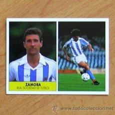 Cromos de Fútbol: REAL SOCIEDAD - ZAMORA - EDICIONES FESTIVAL 1987-1988, 87-88 - NUNCA PEGADO. Lote 37952800