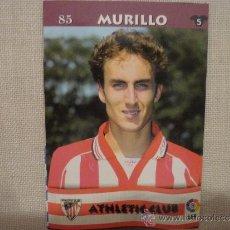 Cromos de Fútbol: MUNDICROMO TOP LIGA 2003 Nº 85 MURILLO (ATHLETIC CLUB BILBAO) – FUTBOL 2002 / 2003. Lote 95018492