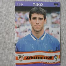 Cromos de Fútbol: MUNDICROMO TOP LIGA 2003 Nº 139 TIKO (ATHLETIC CLUB BILBAO) – FUTBOL 2002 / 2003 . Lote 52552246