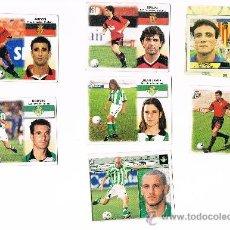 Cromos de Fútbol: EDICIONES ESTE ALBUM 99-00 BORNES(BETIS)FICHAJE Nº9 1999-2000 SIN PEGAR. Lote 37990375
