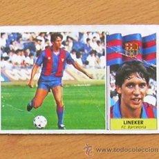 Cromos de Fútbol: FÚTBOL CLUB BARCELONA - LINEKER, FICHAJE 20 - EDICIONES ESTE 1986-1987, 86-87. Lote 37990405