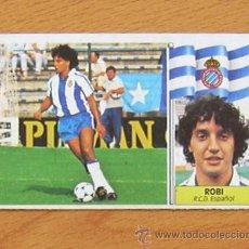 Cromos de Fútbol: R.C.D. ESPAÑOL - ROBI - COLOCA - EDICIONES ESTE 1986-1987, 86-87 - NUNCA PEGADO. Lote 37991203