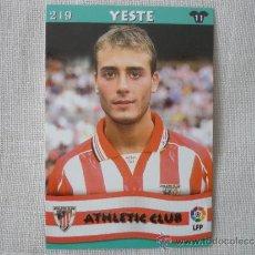 Cromos de Fútbol: MUNDICROMO TOP LIGA 2003 Nº 219 YESTE (ATHLETIC CLUB BILBAO) – FUTBOL 2002 / 2003. Lote 38011718
