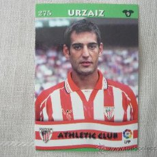 Cromos de Fútbol: MUNDICROMO TOP LIGA 2003 Nº 275 URZAIZ (ATHLETIC CLUB BILBAO) – FUTBOL 2002 / 2003. Lote 38012597