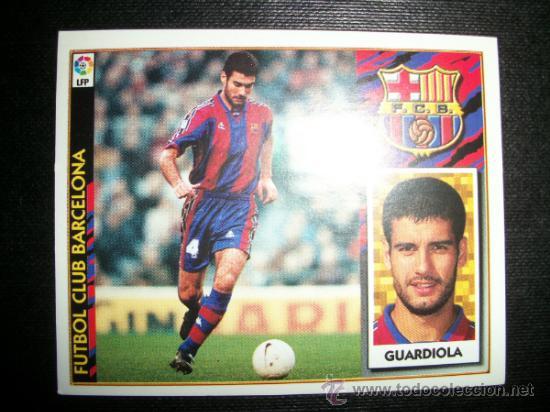 GUARDIOLA DEL BARCELONA ALBUM ESTE LIGA 1997 - 1998 ( 97 - 98 ) (Coleccionismo Deportivo - Álbumes y Cromos de Deportes - Cromos de Fútbol)
