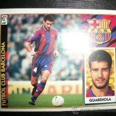 Cromos de Fútbol: GUARDIOLA DEL BARCELONA ALBUM ESTE LIGA 1997 - 1998 ( 97 - 98 ). Lote 289621913