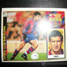 Cromos de Fútbol: FIGO DEL BARCELONA ALBUM ESTE LIGA 1997 - 1998 ( 97 - 98 ). Lote 289622078
