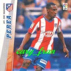Cromos de Fútbol: MEGACRACKS 2008 2009 08 09 ATLETICO MADRID PEREA . Lote 38453818