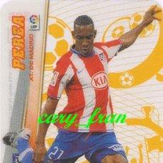 Cromos de Fútbol: MEGACRACKS 2008 2009 08 09 ATLETICO MADRID PEREA MEGAESTRELLA . Lote 38481981