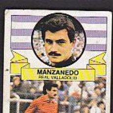 Cromos de Fútbol: CROMO FUTBOL DESPEGADO BAJA MANZANEDO VALLADOLID. Lote 38084442