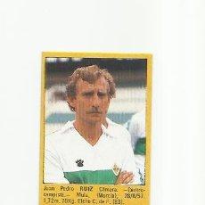 Cromos de Fútbol: RUIZ (ELCHE) - SUPER FUTBOL 85 ROLLAN - LIGA 1985 - CROMOS . Lote 38311992