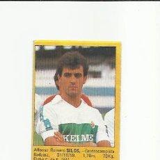 Cromos de Fútbol: SILOS (ELCHE) - SUPER FUTBOL 85 ROLLAN - LIGA 1985 - CROMOS . Lote 38311999