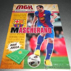 Cromos de Fútbol: MGK 60 MASCHERANO F.C. BARCELONA CROMOS ALBUM MEGACRACKS LIGA FUTBOL 2013 2014 13 14. Lote 207095485