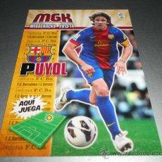 Cromos de Fútbol: MGK 59 PUYOL F.C. BARCELONA CROMOS ALBUM MEGACRACKS LIGA FUTBOL 2013 2014 13 14. Lote 207095507