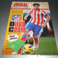 Cromos de Fútbol: MGK 54 DIEGO COSTA AT. MADRID CROMOS ALBUM MEGACRACKS LIGA FUTBOL 2013 2014 13 14. Lote 263190230