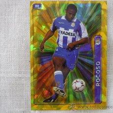 Cromos de Fútbol: MUNDICROMO FICHAS LIGA 2005 Nº 80 ANDRADE (DEPORTIVO CORUÑA) FONDO ROMBOS - FUTBOL 2004 2005 . Lote 38479353