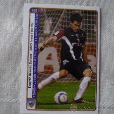 Cromos de Fútbol: MUNDICROMO FICHAS LIGA 2005 Nº 848 EDU NAVARRO - BRUNO SALTOR (LLEIDA) - PLATINUM 2004 2005. Lote 60441230